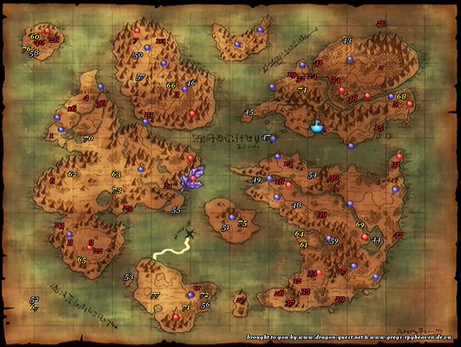Berüchtigte Monster :: Dragon Quest VIII :: icksmehl.de on
