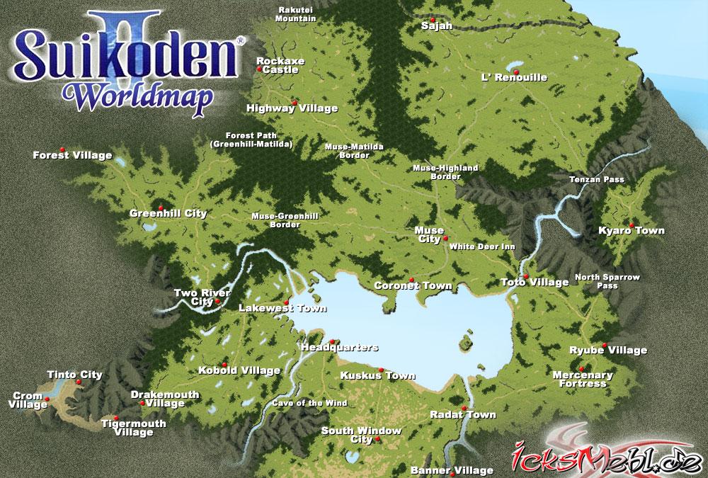 Weltkarte :: Suikoden II :: icksmehl.de
